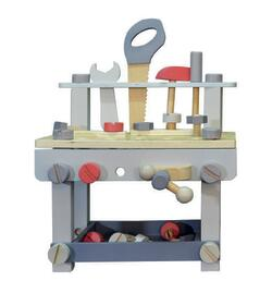 Tool bench with tools - Pastel