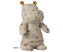 Maleg - Safari Friends - Medium Hippo - Multi dot