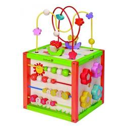 Organic Activity Cube from Everearth - MULTI-PLAY ACTIVITY CUBE