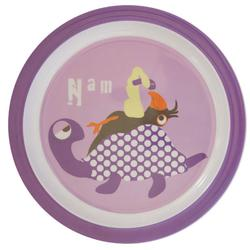 Flat plate with animal motif, in classic and nostalgic design - from Kids by Friis