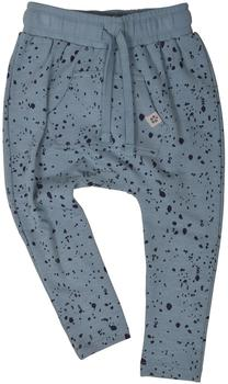 Printed sweat pants - 96% GOTS-certified organic cotton and 4% elastane - PAPER