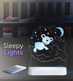 Sleeping lamp bear LED Lamp