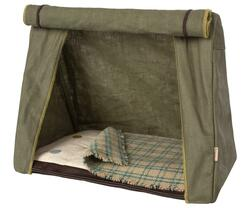Maileg - Telt - Happy Camper Tent, Mouse