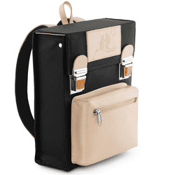 Backpack / Bag - Retro design - Jens Storm Copenhagen - Black