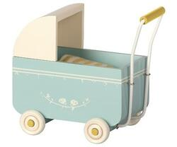 Maileg - Doll carriage MY - Blue