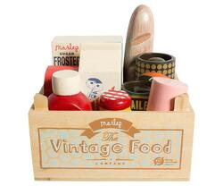 Maileg - Vintage food in wooden box