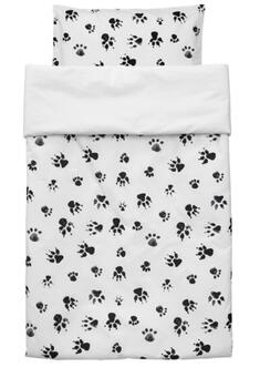 Bedding set NEO in black and white 100 X 130 from KidsConcept (note the dimensions)