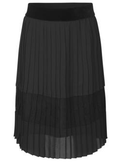 Rosemunde Kids - Skirt black with lace. Select ml. several sizes