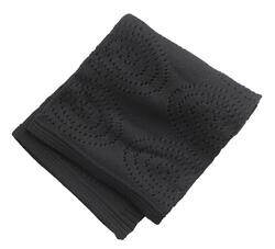 Cotton blanket black for the cot / stroller from Kids Concept