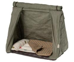 Maileg Tent - Happy camper tent, Mouse