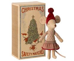 Christmas mice in a box - Big sister - Pre-order - expected in stock from 15-10-2020