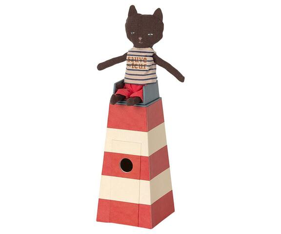 Maileg - SAUVETEUR, TOWER WITH CAT - PRE-ORDER expected delivery from: 01-05-2021