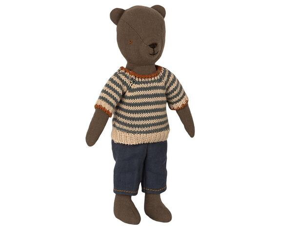 Maileg - BLOUSE AND PANTS FOR TEDDY DAD   -Pre-order - Expected delivery from: 15-05-2021