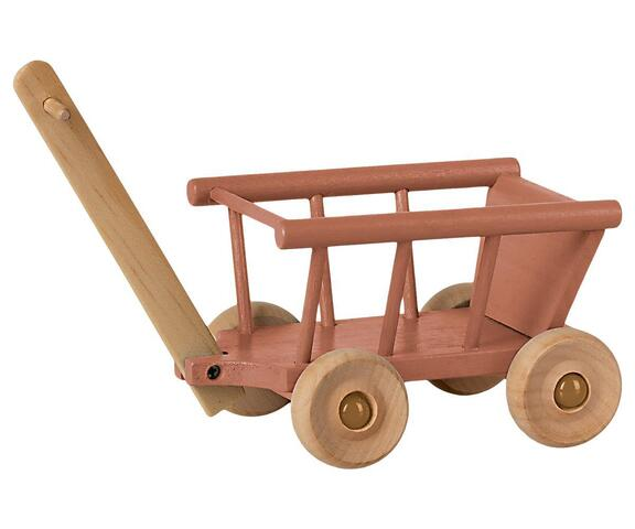 Maileg - Wagon - Dusty rose - Pre-order - Expected in stock from 4-6-2021