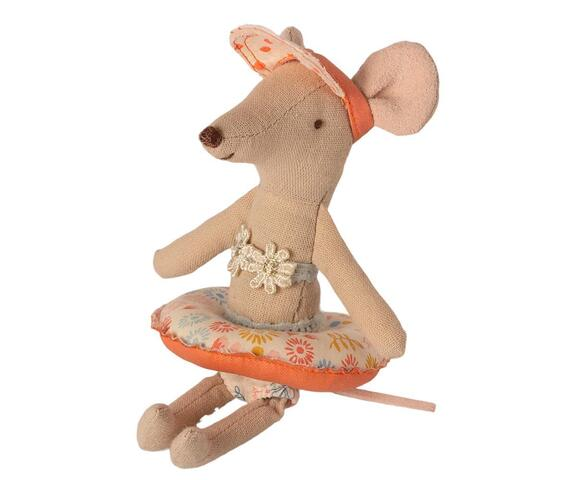 Maileg - Float, small mouse - Flower - Pre-order - Expected in stock from 1-5-2021