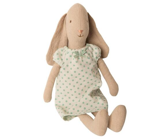 Maileg - Bunny size 2, Nightgown - Mint