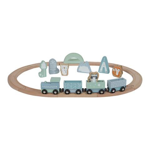 Train line from Little Dutch is available in 2 colors