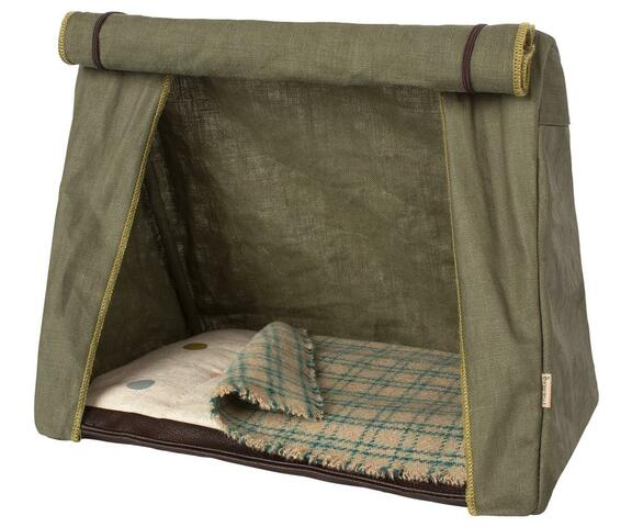 Maileg - Tent - Happy Camper Tent, Mouse