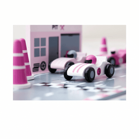 Race car track - Pink