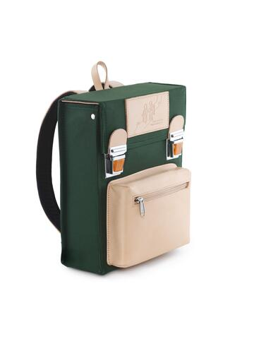 Backpack / bag - Retro design - Jens Storm Copenhagen - Green