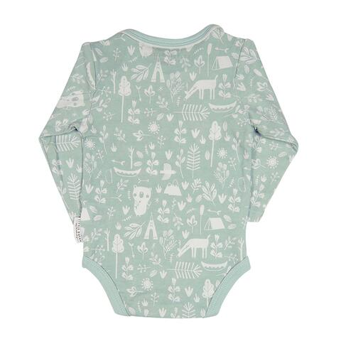 Nice body with long sleeves in mint from Little Dutch