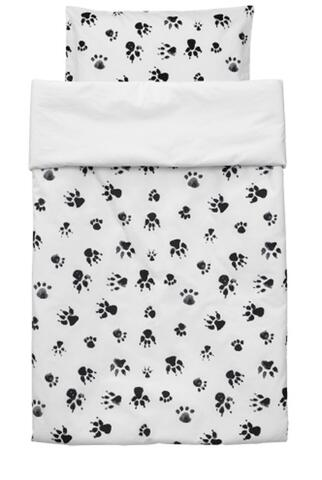 Bed set NEO in black and white 100 X 130 from KidsConcept (note the dimensions)