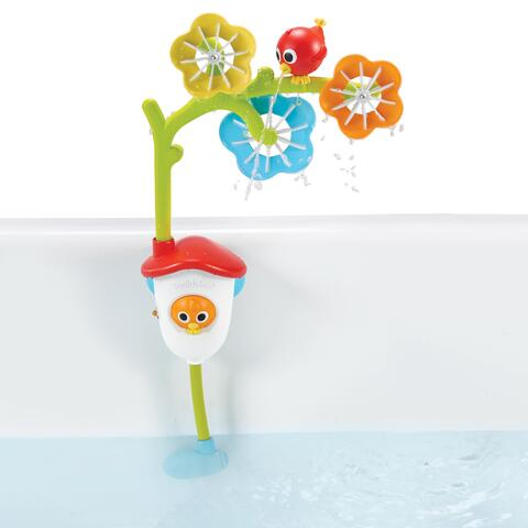 Battery-powered flower waterfall for the bath - Sensory bath mobile