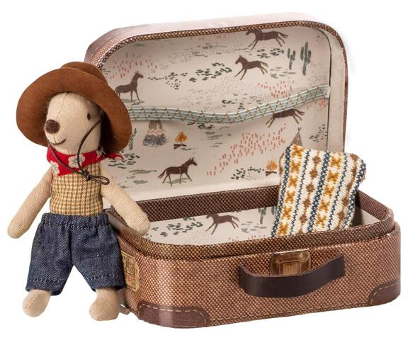 Maileg - Cowboy in suitcase - Little brother