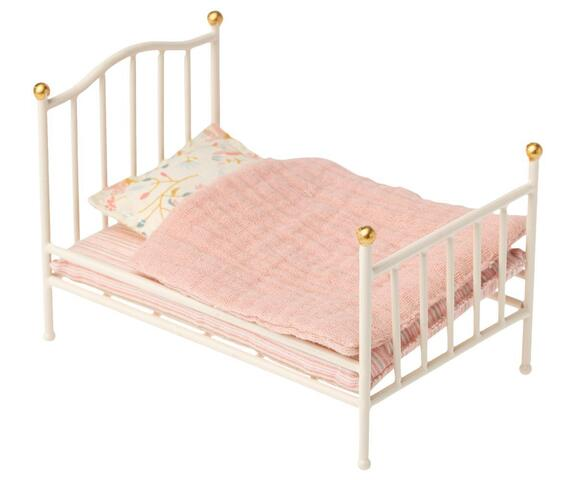 Maileg - Bed vintage off. white