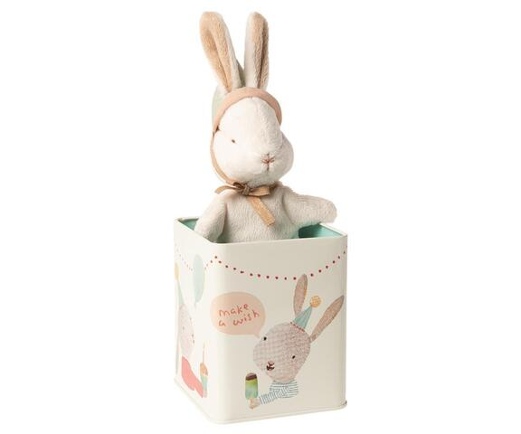 Maileg - Happy Day - rabbit in a box