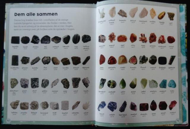My book about stones and minerals - Forlaget Bolden