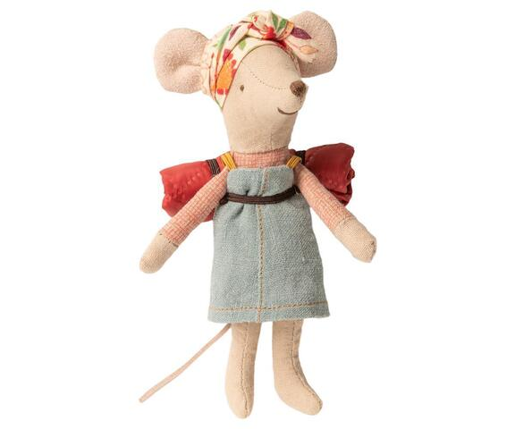 Maileg - Hiker mouse - Big sister walking mouse