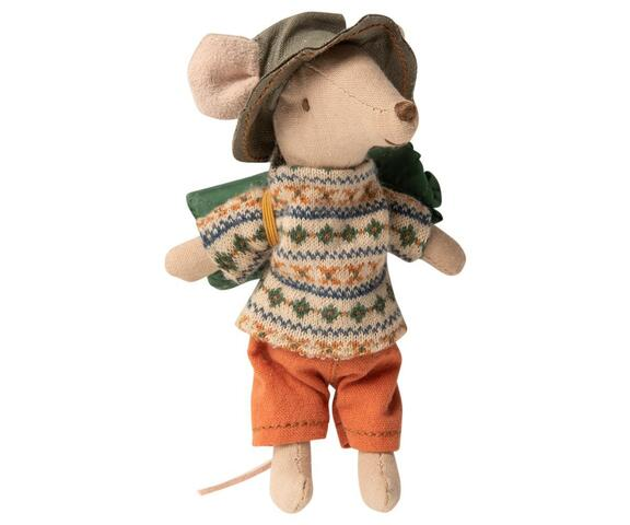 Maileg - Hiker mouse - Big brother - Hiking mouse