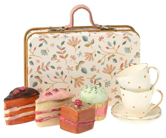 Maileg - Kager i kuffert - Cake set in suitcase