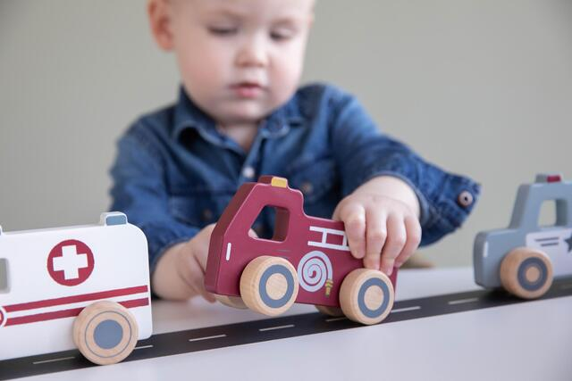 Beautiful and robust wooden vehicles from Little Dutch