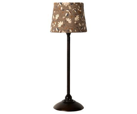 Maileg - MINIATURE FLOOR LAMP - ANTRACITE - pre-order - expected in stock from 15-10-20