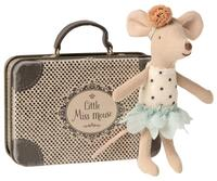 Maileg - Little Miss Mouse in suitcase