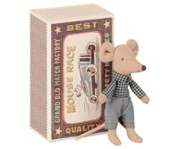 Maileg - Little brother mouse in matchbox  - Pre-order - Expected in stock from 1-4-2021