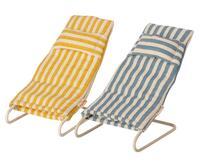 Maileg - Beach chair set for mouse - Pre-order - Expected in stock from 1-5-2021