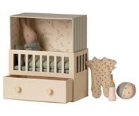 Maileg - Baby room w/Micro rabbit - Pre-order - Expected in stock from 15-5-2021