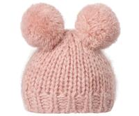 Maileg - Best Friends - Knittet hat with 2 pompom - Heather