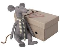 Maileg - Cool Rat - Blue - 29 cm.