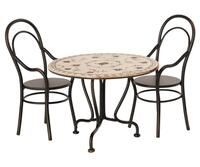 Maileg - Dining table w. 2 chairs