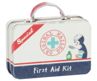 Maileg - Metal suitcase - First aid Kit