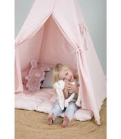 Tipi - with base and decoration - Pink