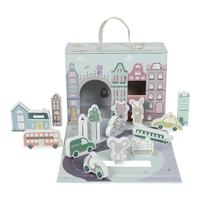 City box Suitcase with city and accessories