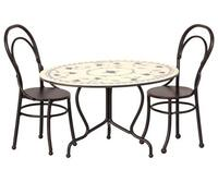 Maileg - Café table set with 2 chairs