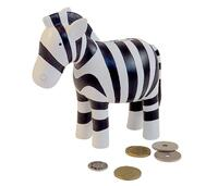 "Money box ""Zebra"" Hand painted. Kids By Friis"