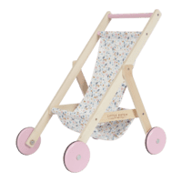 Super cute wooden stroller from Little Dutch