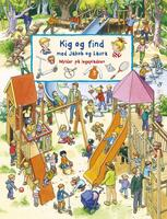 Look and find with Jakob and Laura: Crowds on the playground - Forlaget Bolden